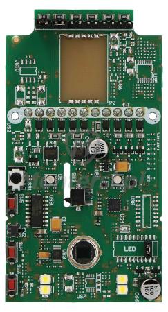 Elektronika wewnętrzna czujki SLIM-PIR-LUNA-PET