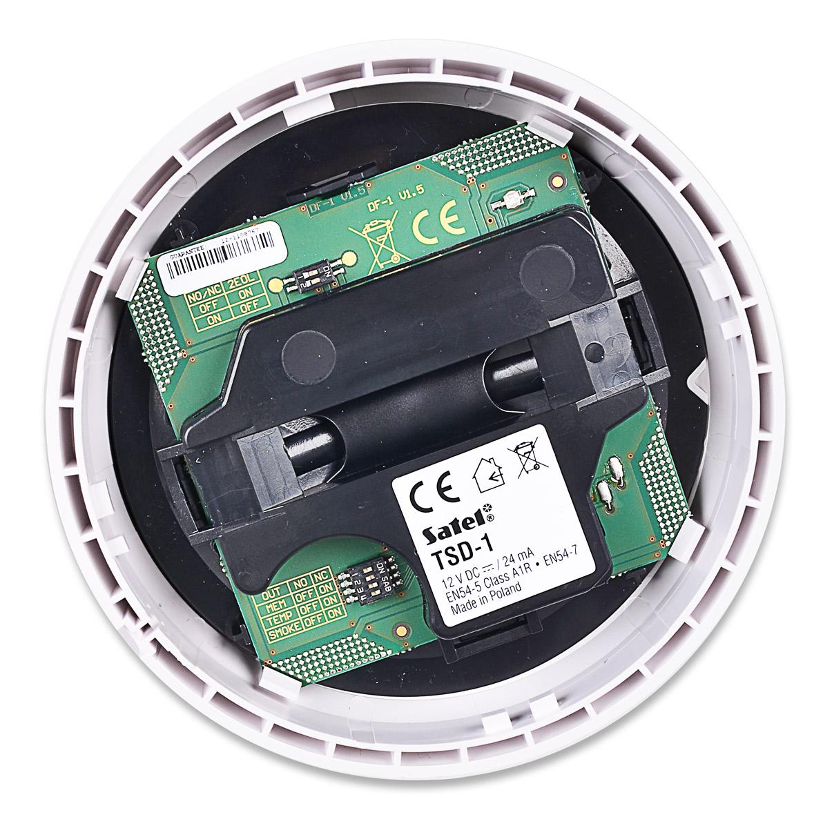 Płytka elektroniki czujki dymu TSD-1
