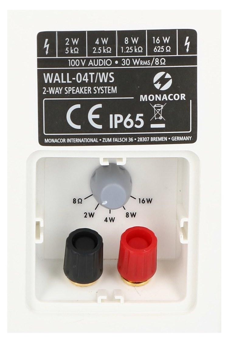 Terminal podłączeniowy WALL-04T/WS