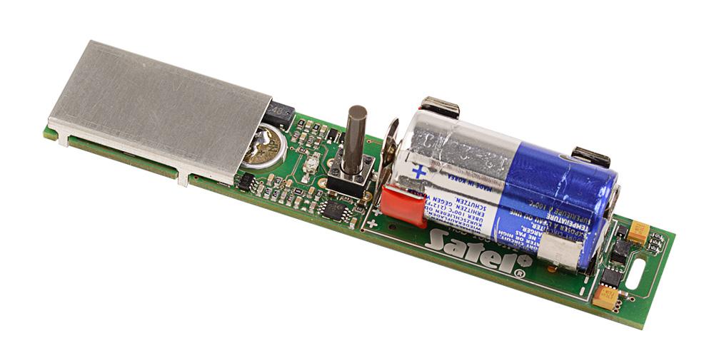 Wnętrze czujki magnetycznej AMD-101 BR