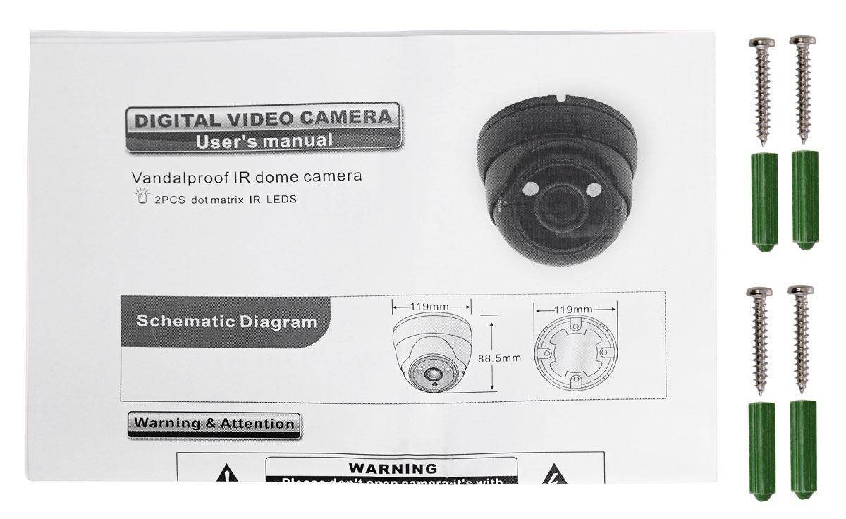 Akcesoria kamery BCS-DMQE4200IR3-B