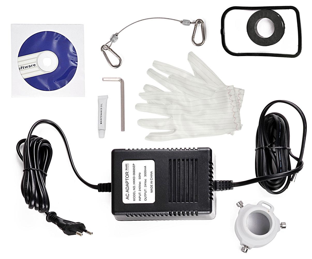 Akcesoria wchodzące w skład kamery BCS-SDIP3220-II