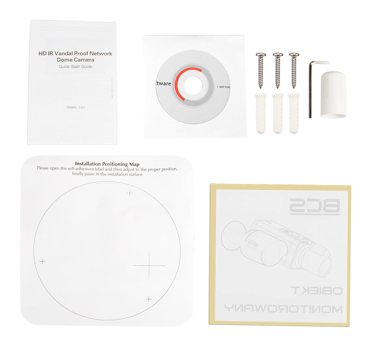 Akcesoria kamery DH-IPC-HDBW1200E-W