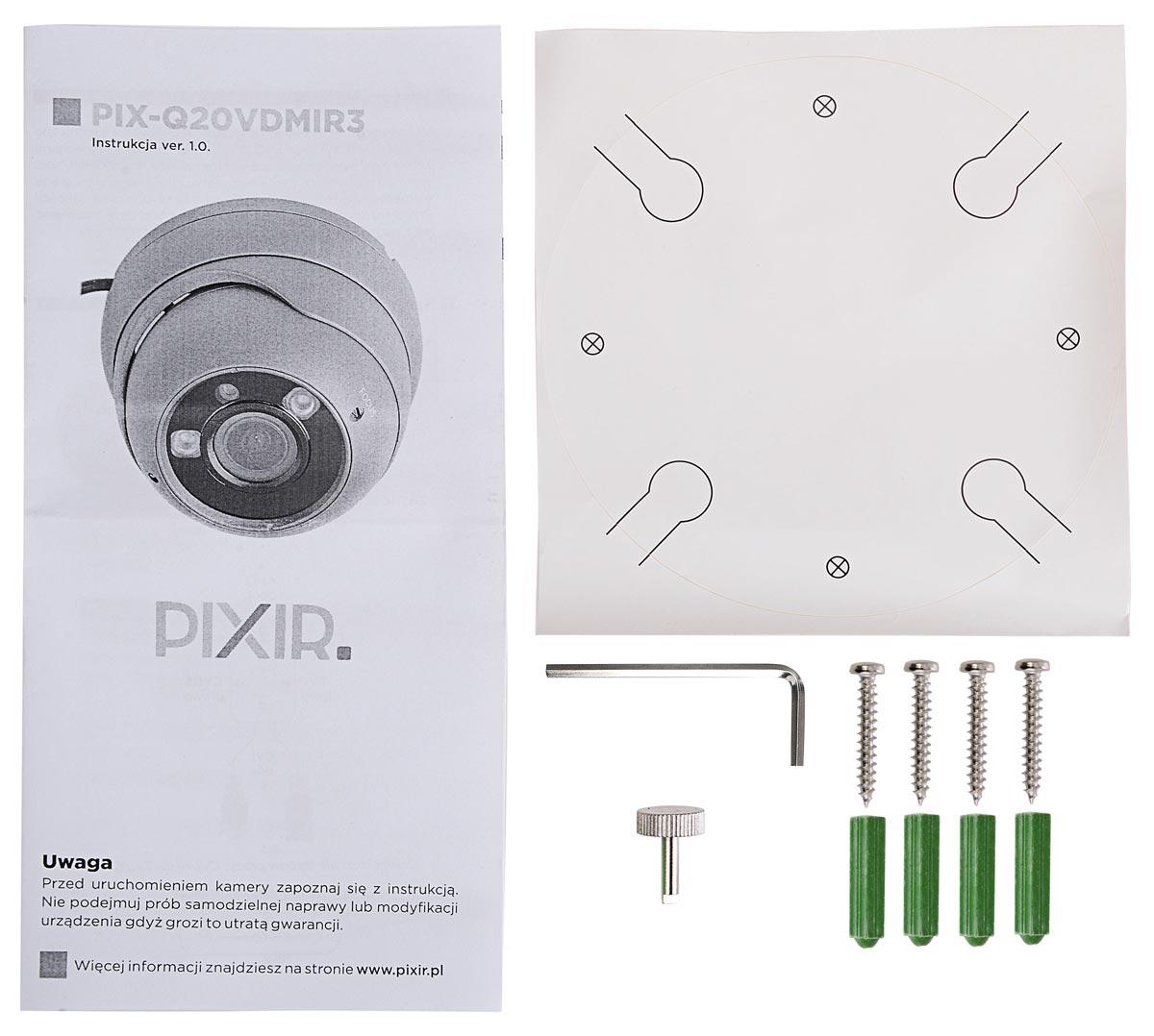 Akcesoria kamery 4 in 1 PIX-Q20VDMIR3