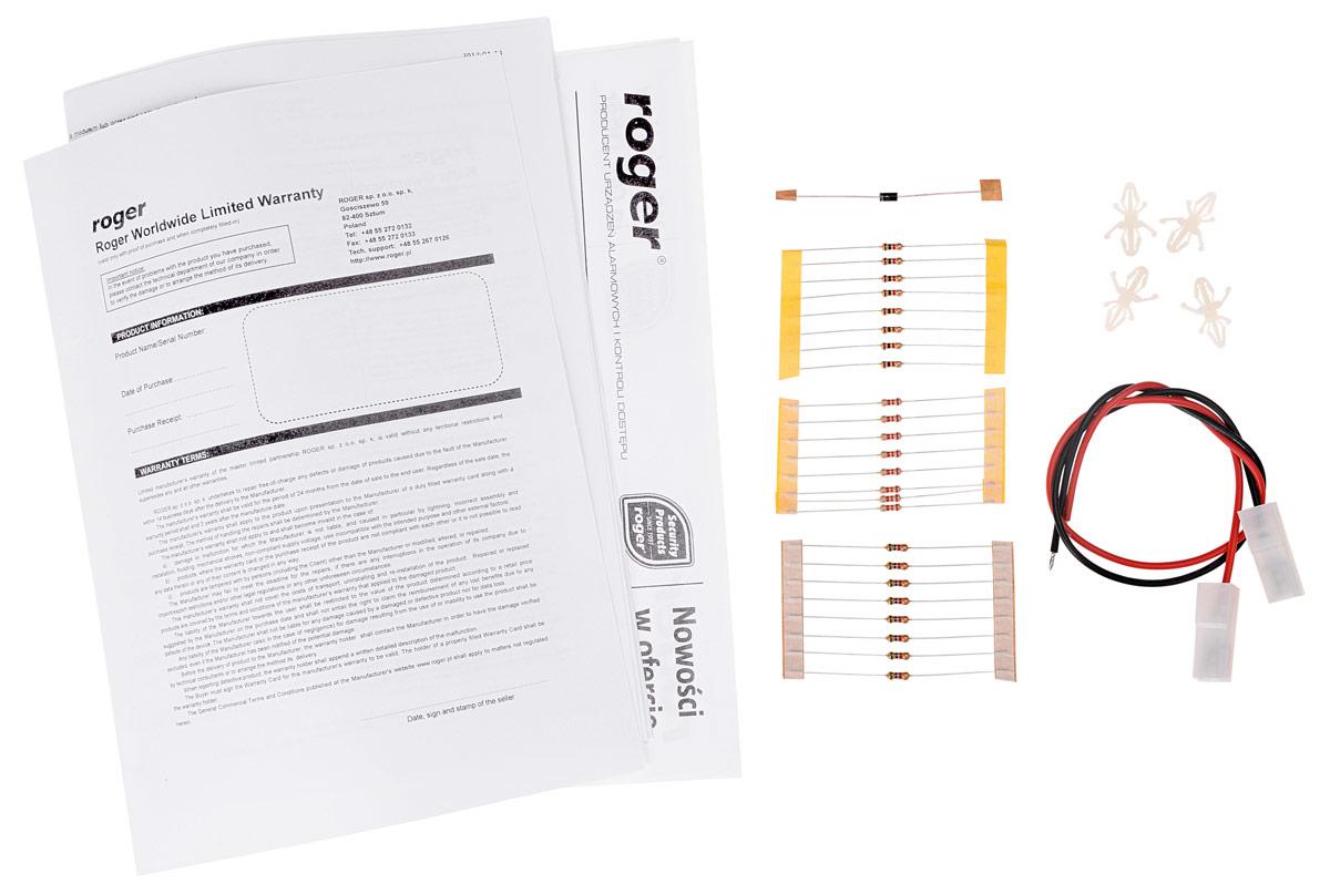 Akcesoria kontrolera dostępu MC16-PAC-1