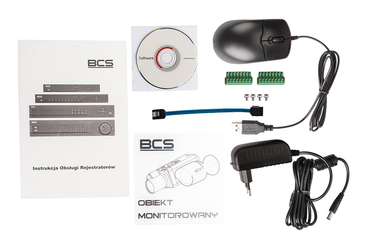 Akcesoria zestawu BCS-CVR04012ME-III