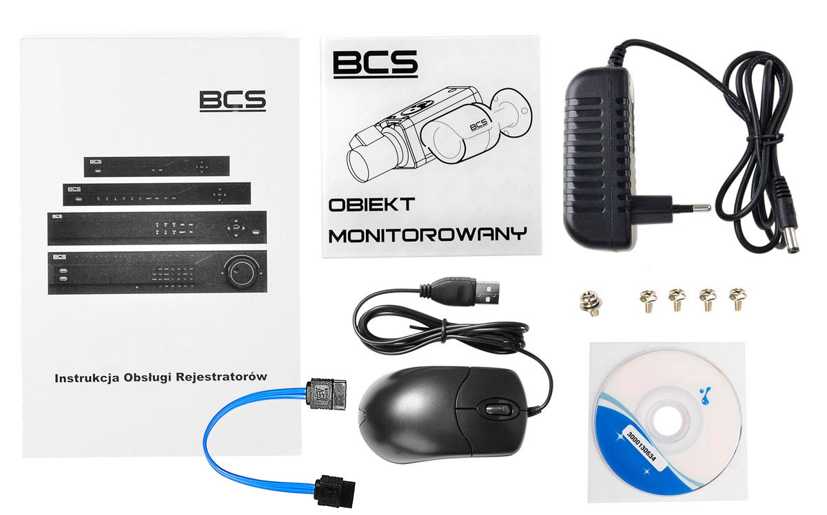 Akcesoria rejestratora BCS-CVR0801E-IV