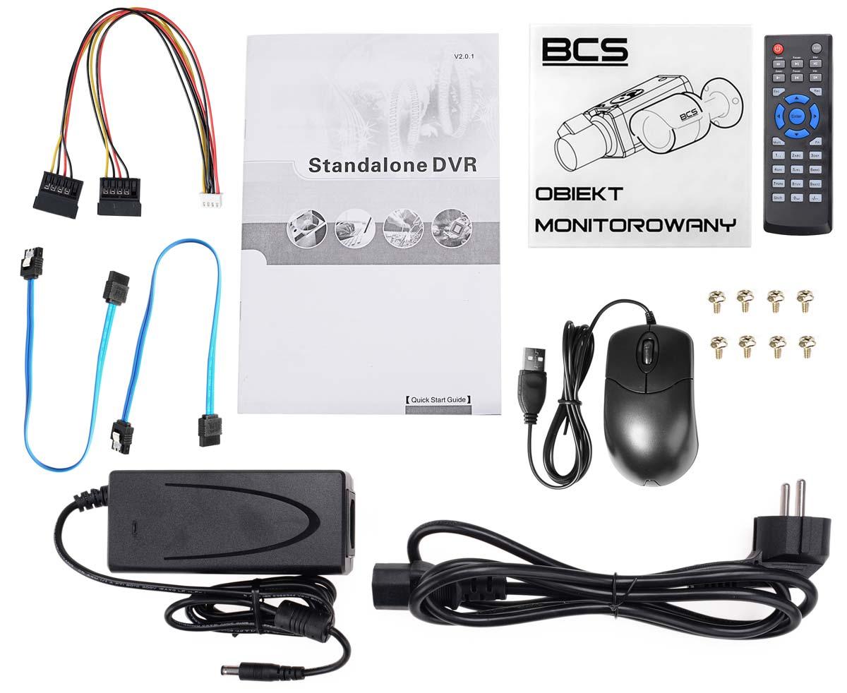 Akcesoria rejestratora BCS-CVR3202-IV