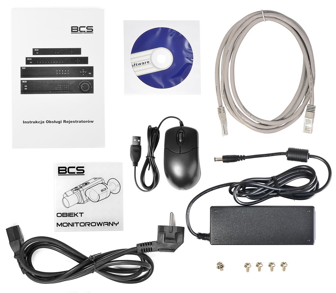 Akcesoria rejestratora BCS-NVR0401X5ME-P