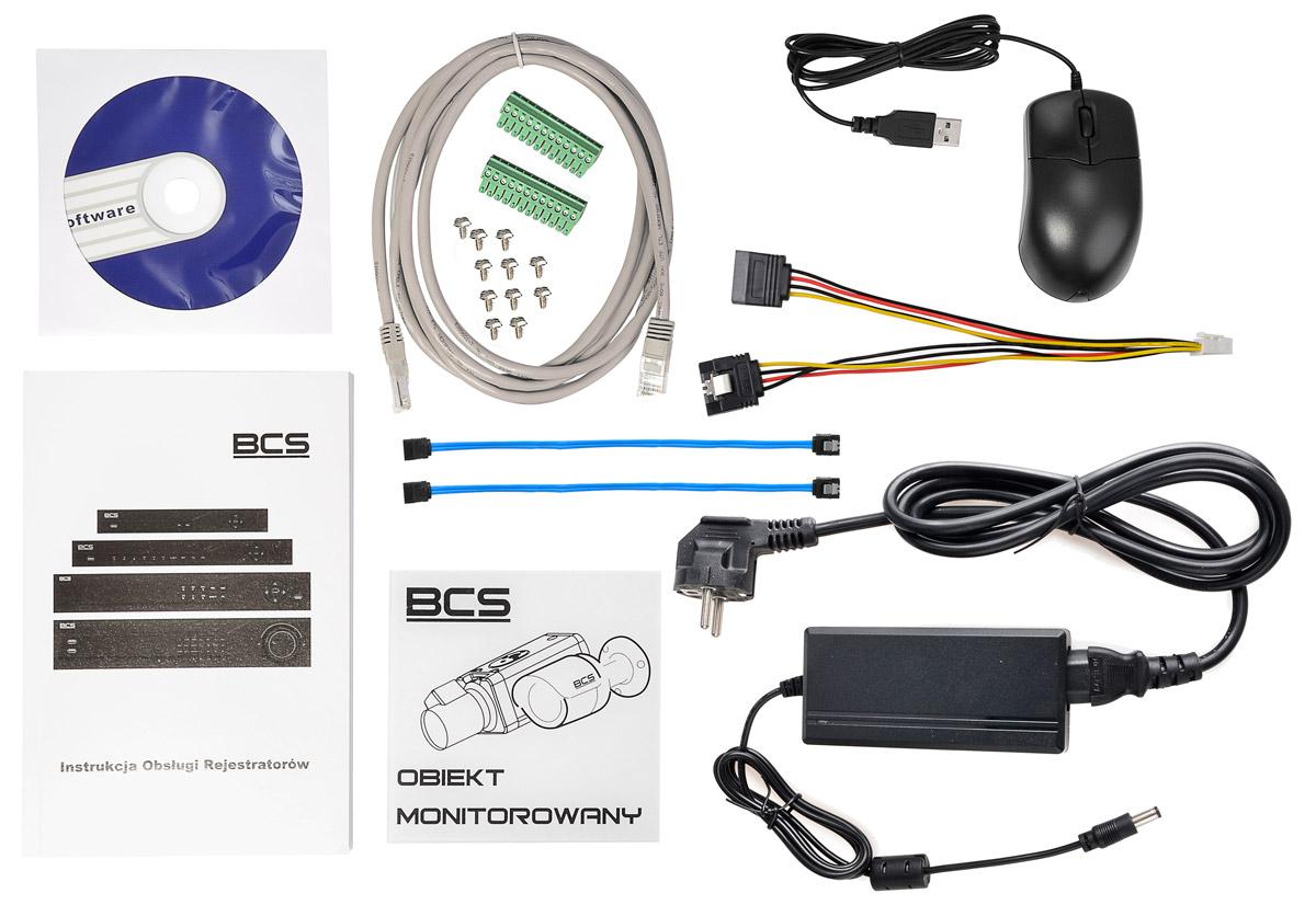 Akcesoria rejestratora BCS-NVR0802-4K
