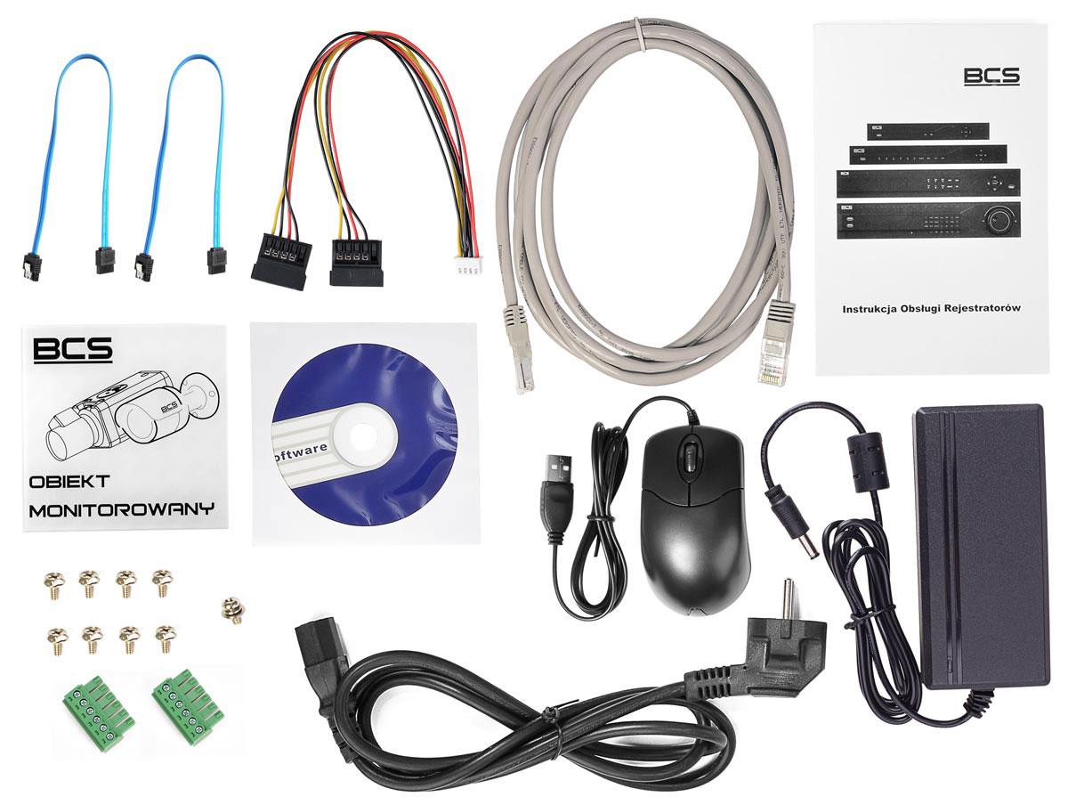 Akcesoria rejestratora BCS-NVR1602-4K-II