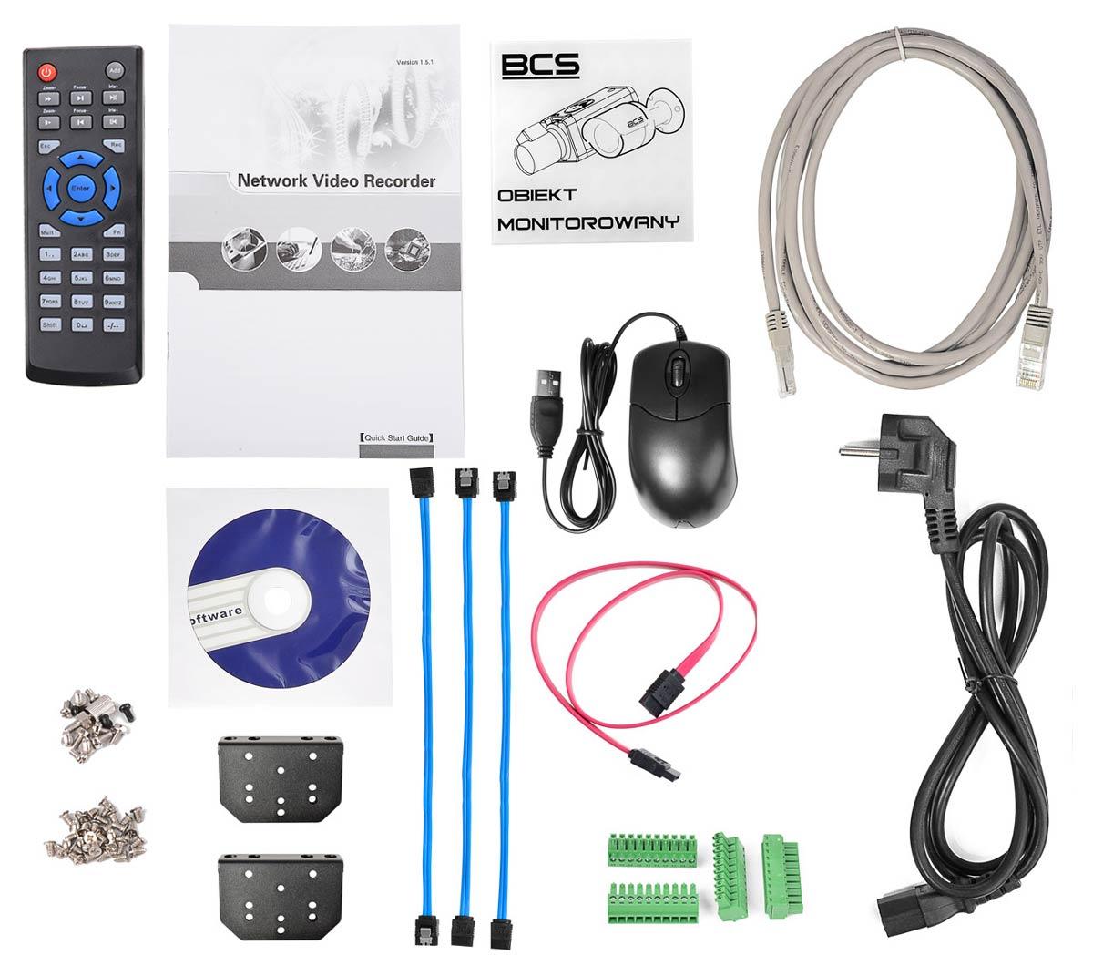 Akcesoria rejestratora BCS-NVR3204-4K-II