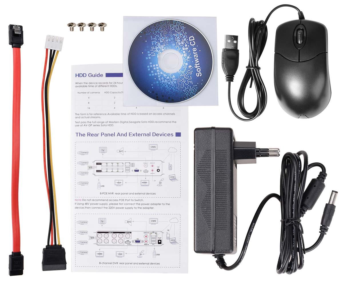 Akcesoria rejestratora BCS-QDVR1601ME