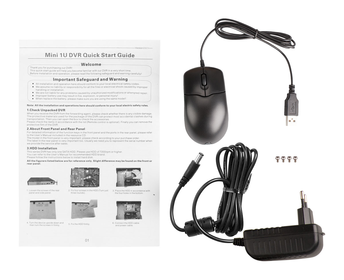 Akcesoria rejestratora DHI-HCVR4108HS-S2