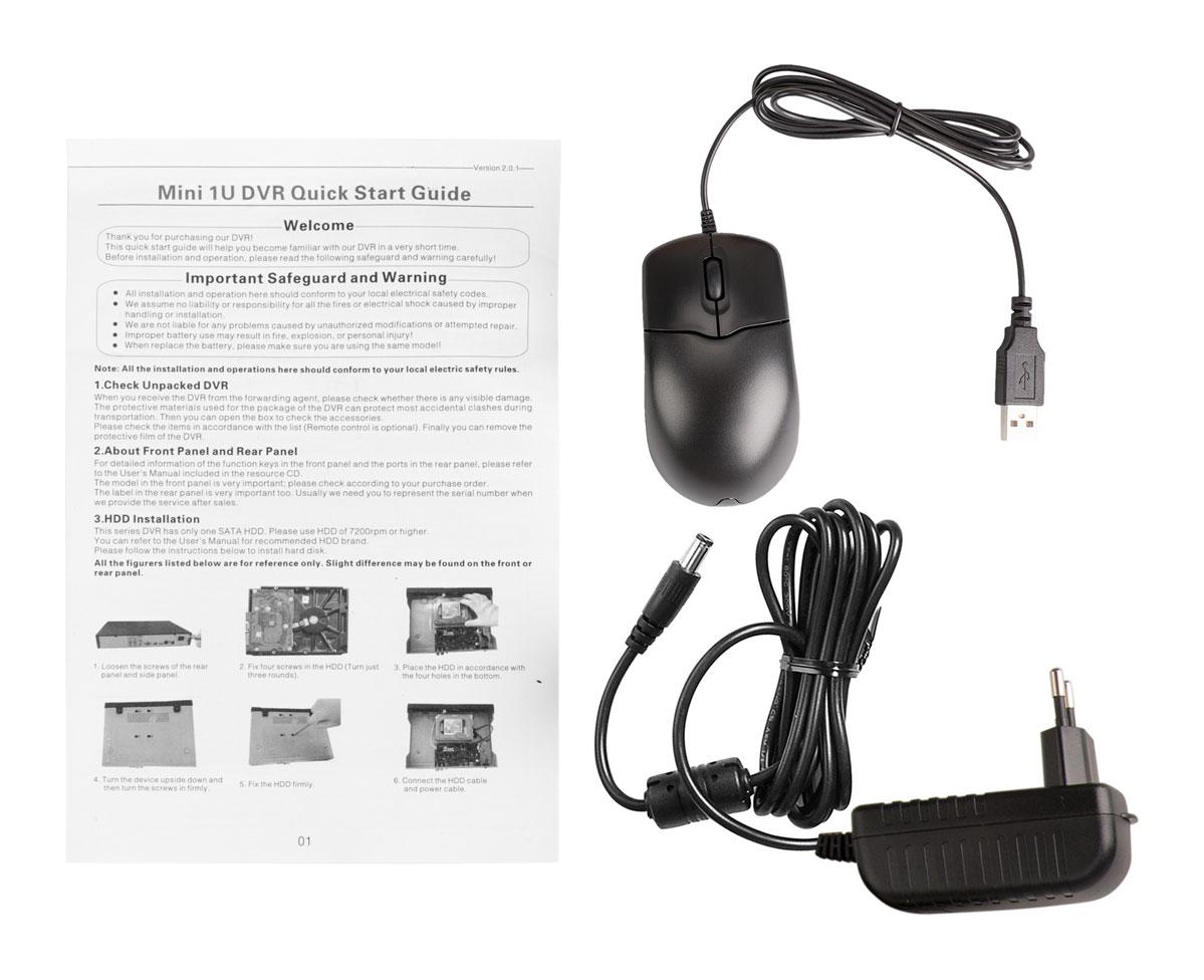 Akcesoria rejestratora DHI-HCVR4116HS-S2
