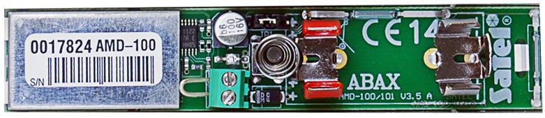 Wnętrze czujki magnetycznej AMD-100