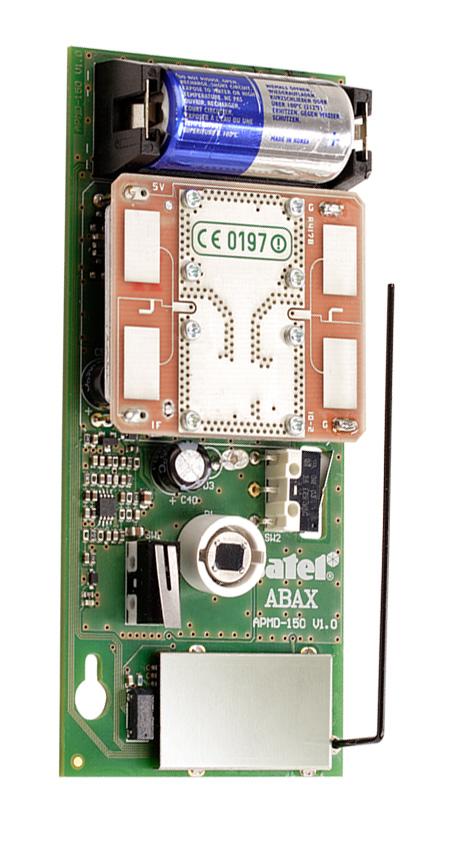 Wnętrze czujki APMD-150