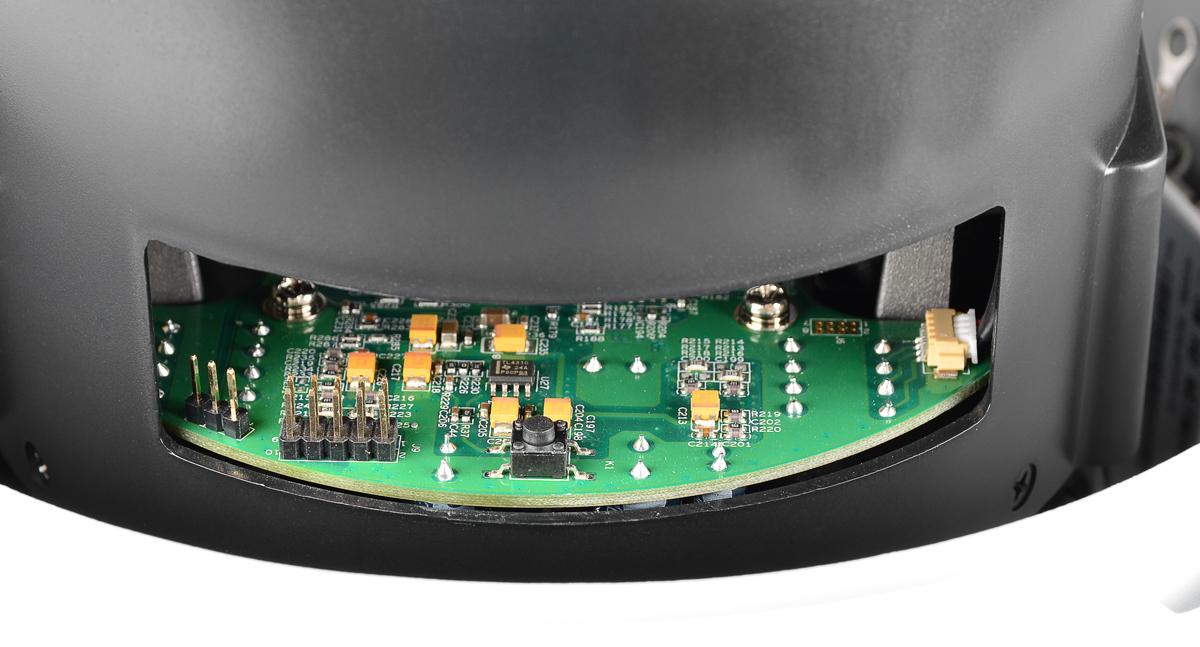 Zmiana parametrów pracy kamery BCS-SDIP3118, przy pomocy zwór