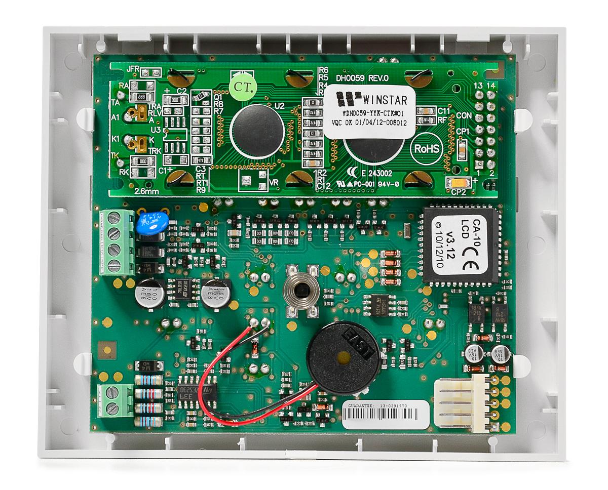Wnętrze manipulatora CA-10 KLCD-S