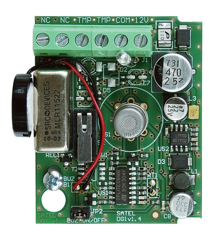 Płytka elektroniki czujki DG-1 LPG