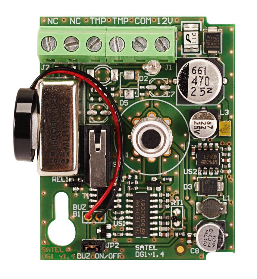 Płytka elektroniki czujki DG-1 CO