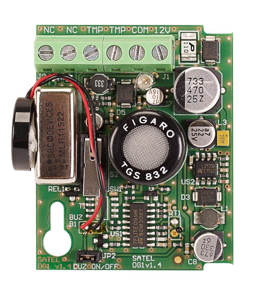 Płytka elektroniki czujki DG-1 TCM