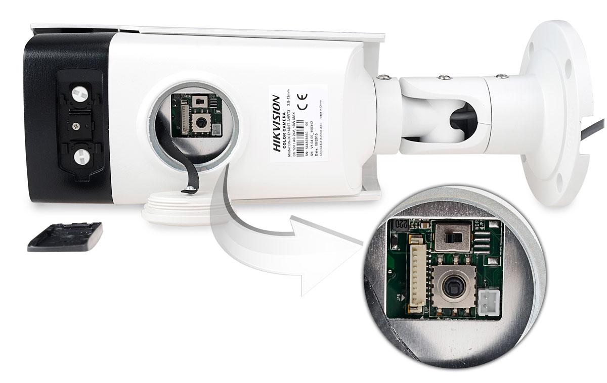 Dodatkowe wyjście wizyjne kamery DS-2CE16D5T-AVFIT3