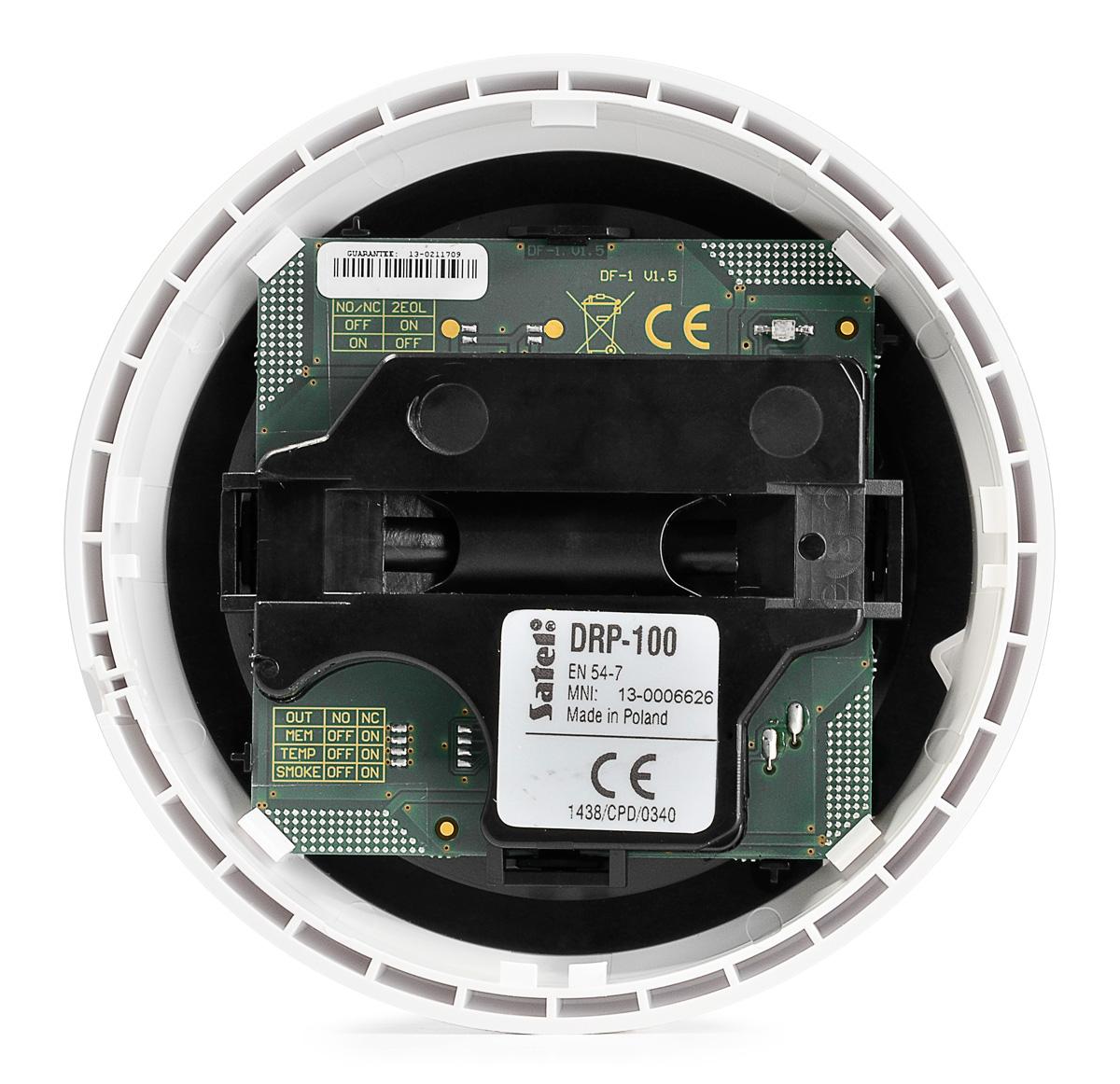 Wnętrze detektora DRP-100