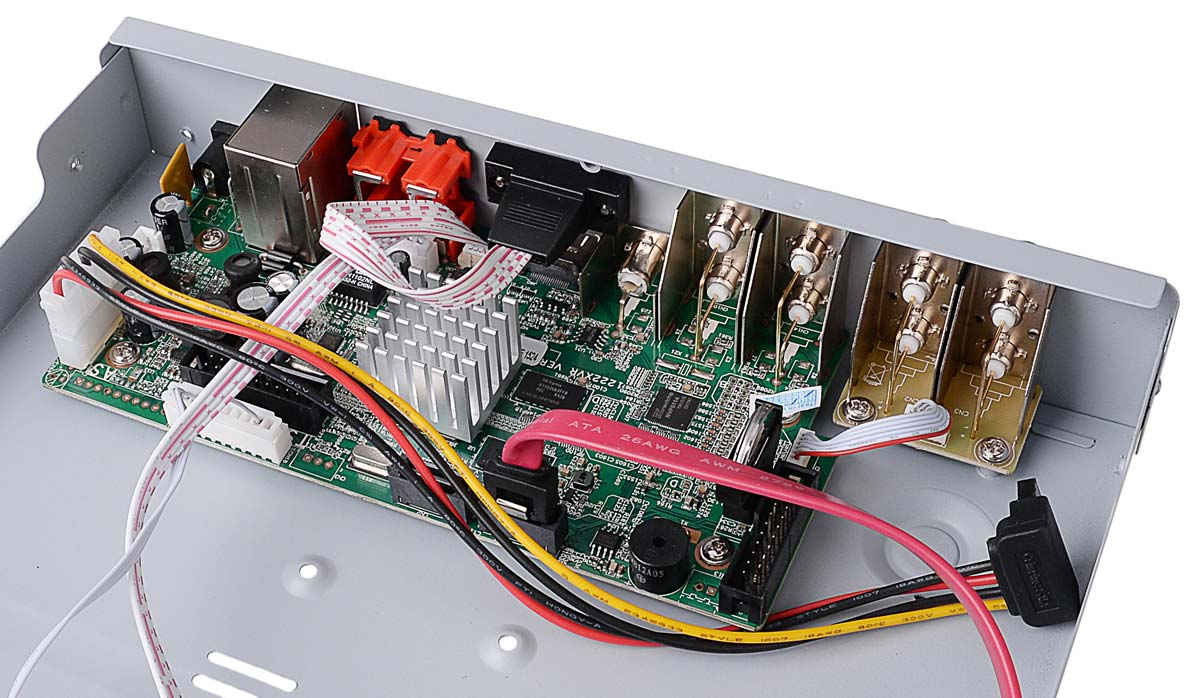 Płytka elektroniki rejestratora VAHR-08MA