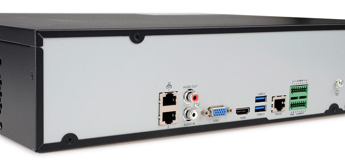 Gniazda rejestratora BCS-PNVR3208