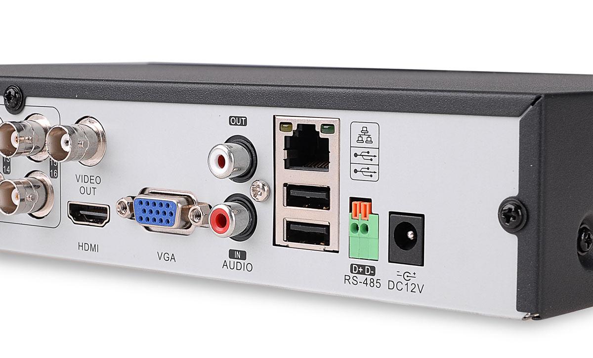 Gniazda rejestratora BCS-QDVR1601ME