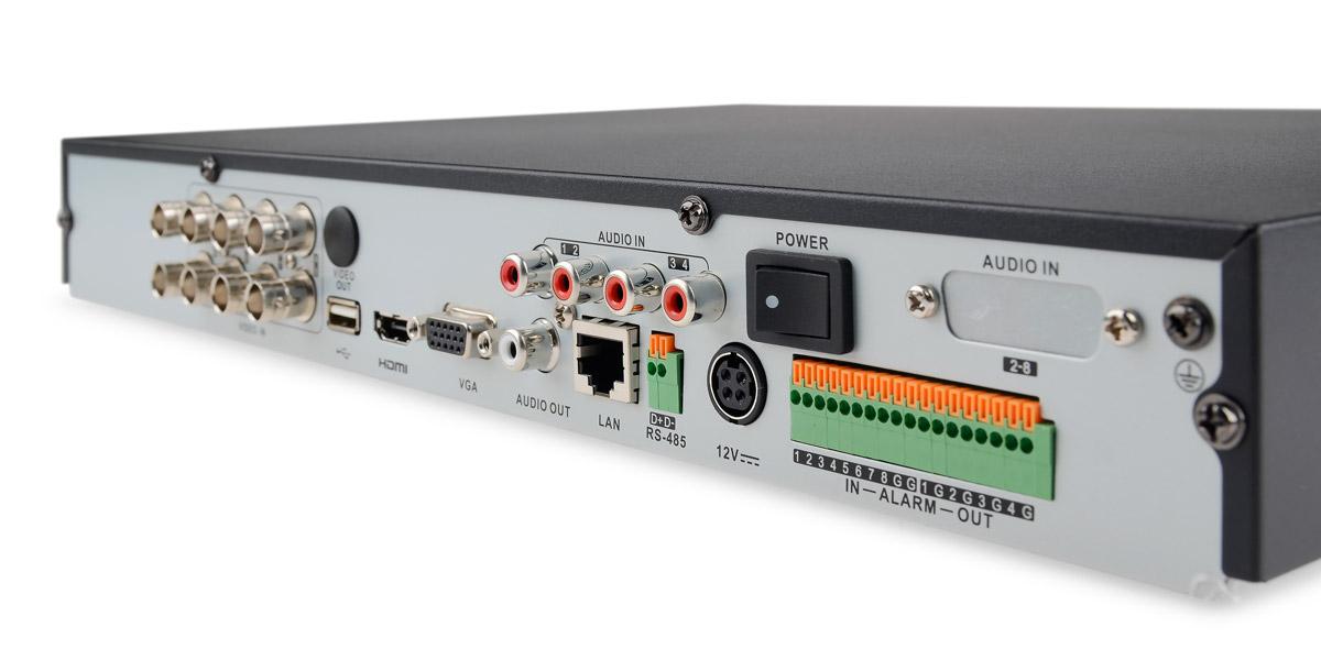 Gniazda rejestratora DS-7208HQHI-SH/A