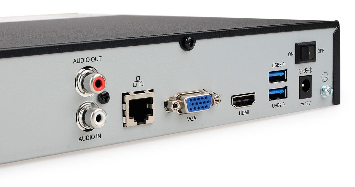 Gniazda rejestratora BCS-PNVR0801