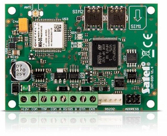 INT-GSM - Moduł komunikacyjny GPRS do central INTEGRA