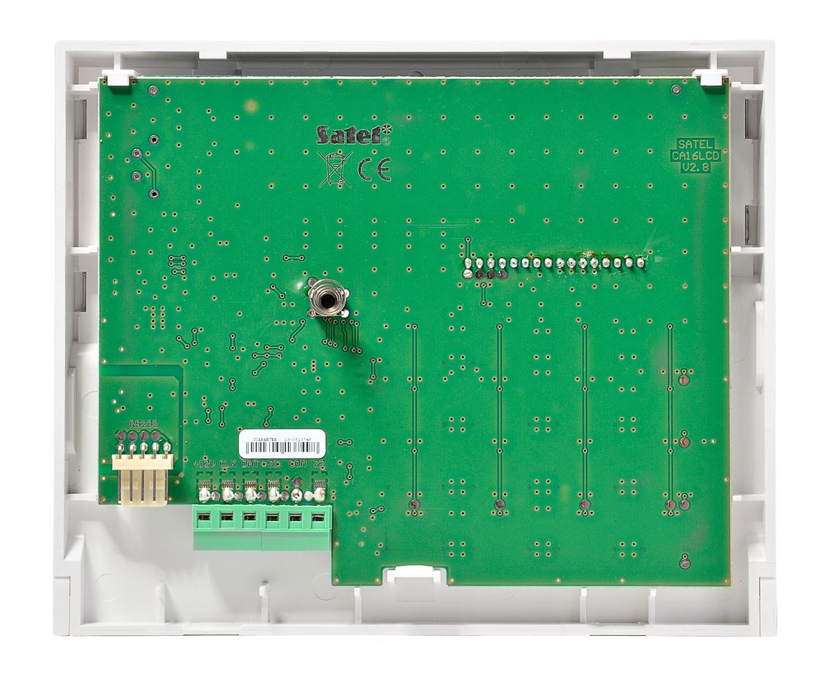 Wnętrze manipulatora INT-KLCDK-GR