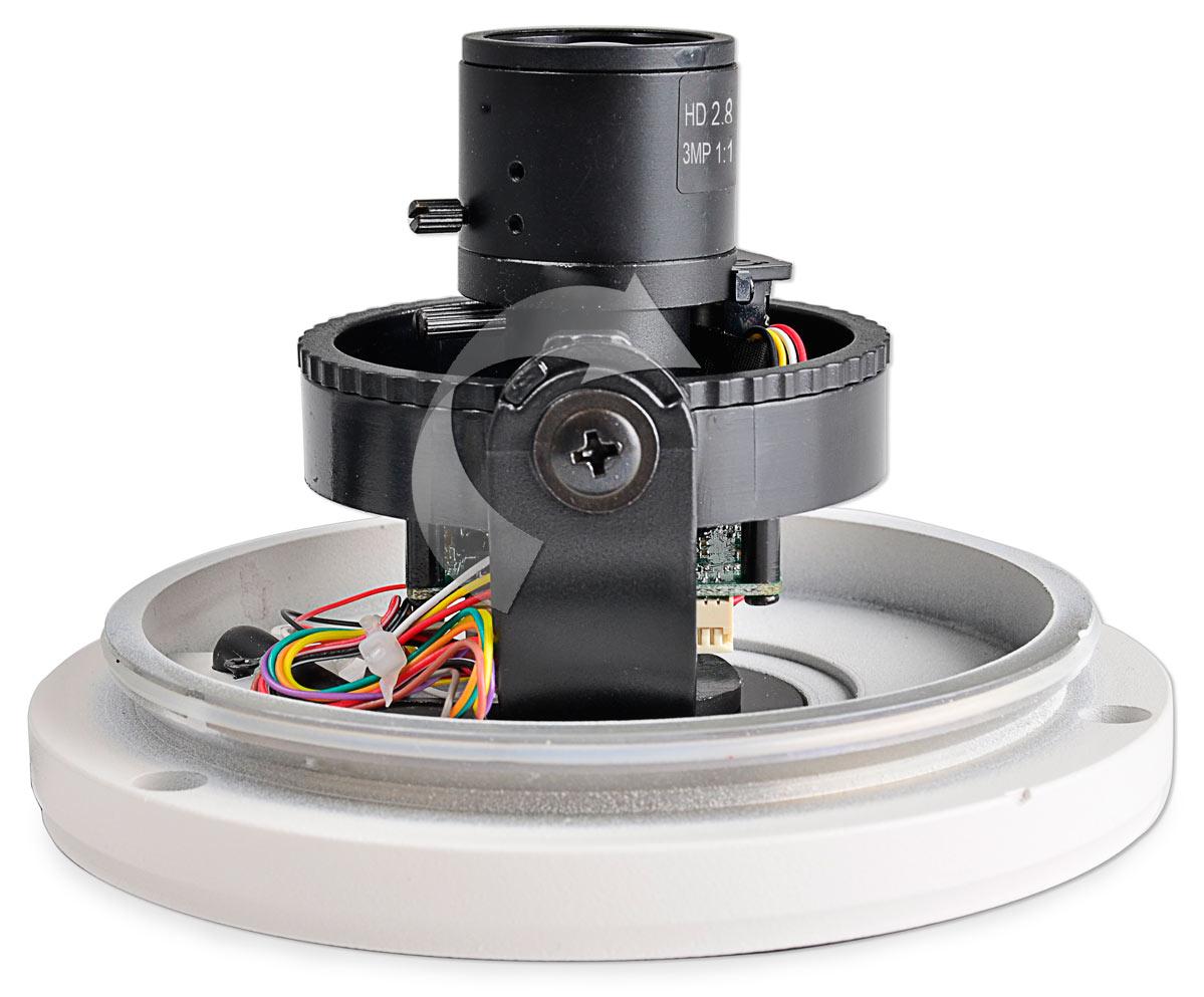 Regulacja położenia kamery BCS-DMHA4130TDNU