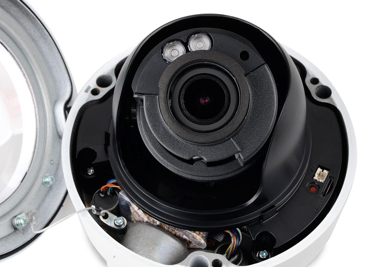 Kamera BCS-P232R3S ze zdjętą obudową