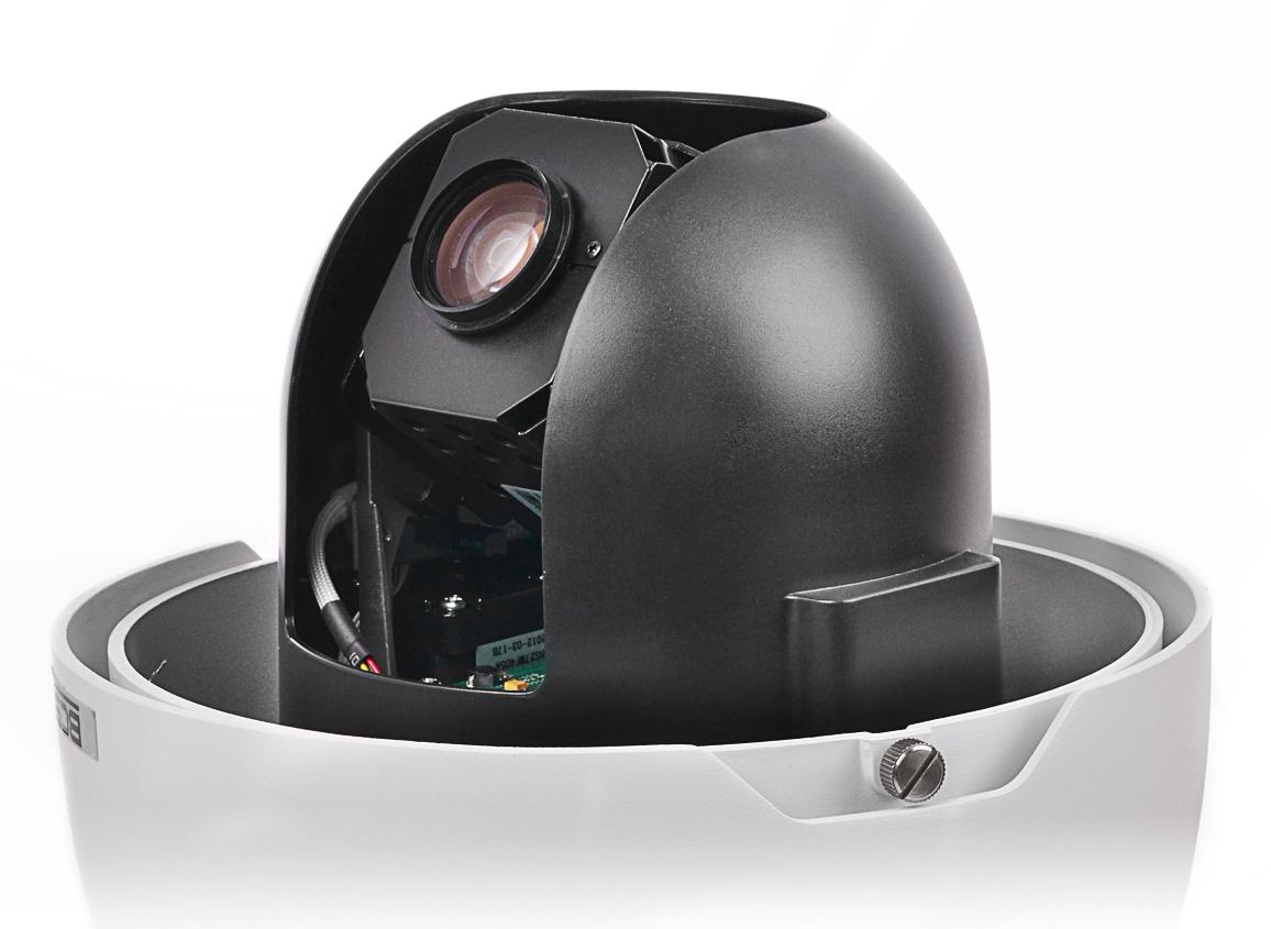 Kamera BCS-SDIP3220-II ze zdjętą obudową