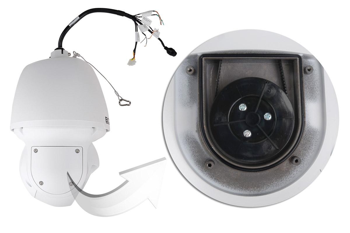 Mechanizm poruszający głowicą kamery BCS-P5623RSAP