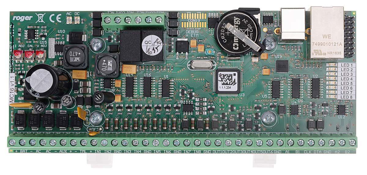 Kontroler dostępu MC16-PAC-1