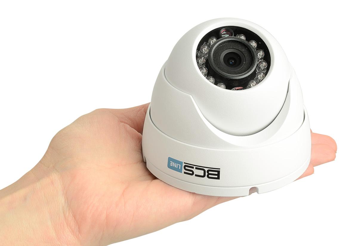 Niewielkie rozmiary kamery BCS-DMIP1300IR-E