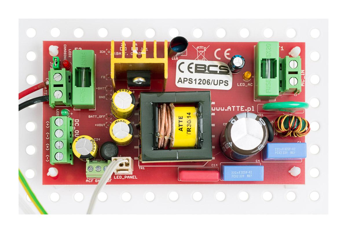 Moduł zasilacza buforowego BCS-ZA1206/UPS/E