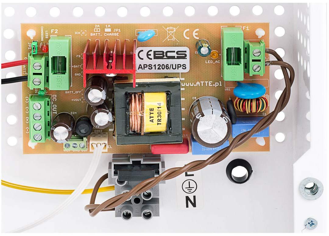 Moduł zasilacza buforowego BCS-ZA1206/UPS/F