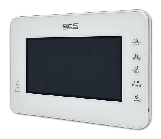 Monitog głośnomówiący BCS-MON7000W