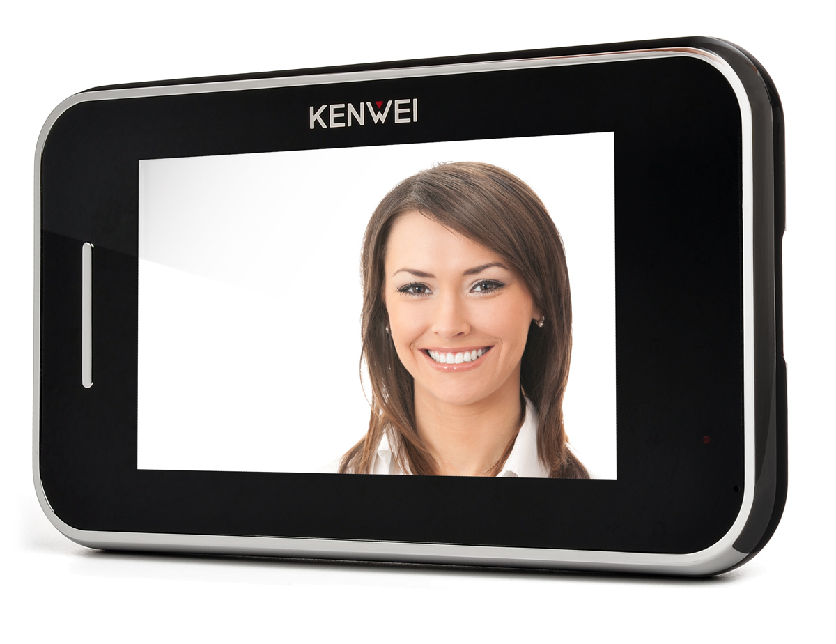Monitor głośnomówiący KW-S702C-B