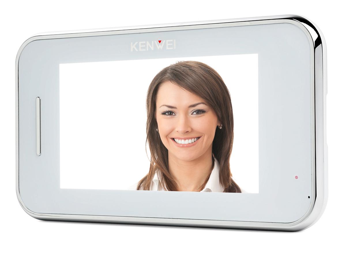 Monitor głośnomówiący KW-S702C-W
