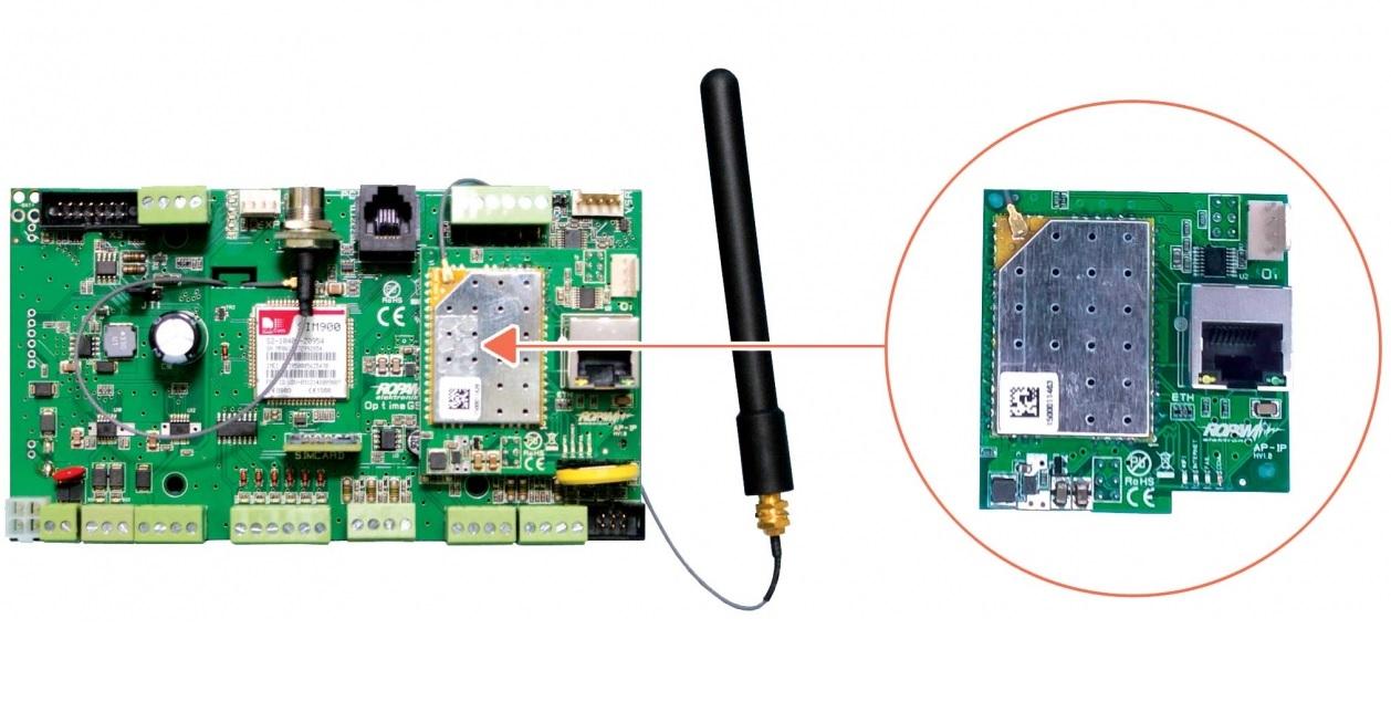 Sposób montażu modułu AP-IP