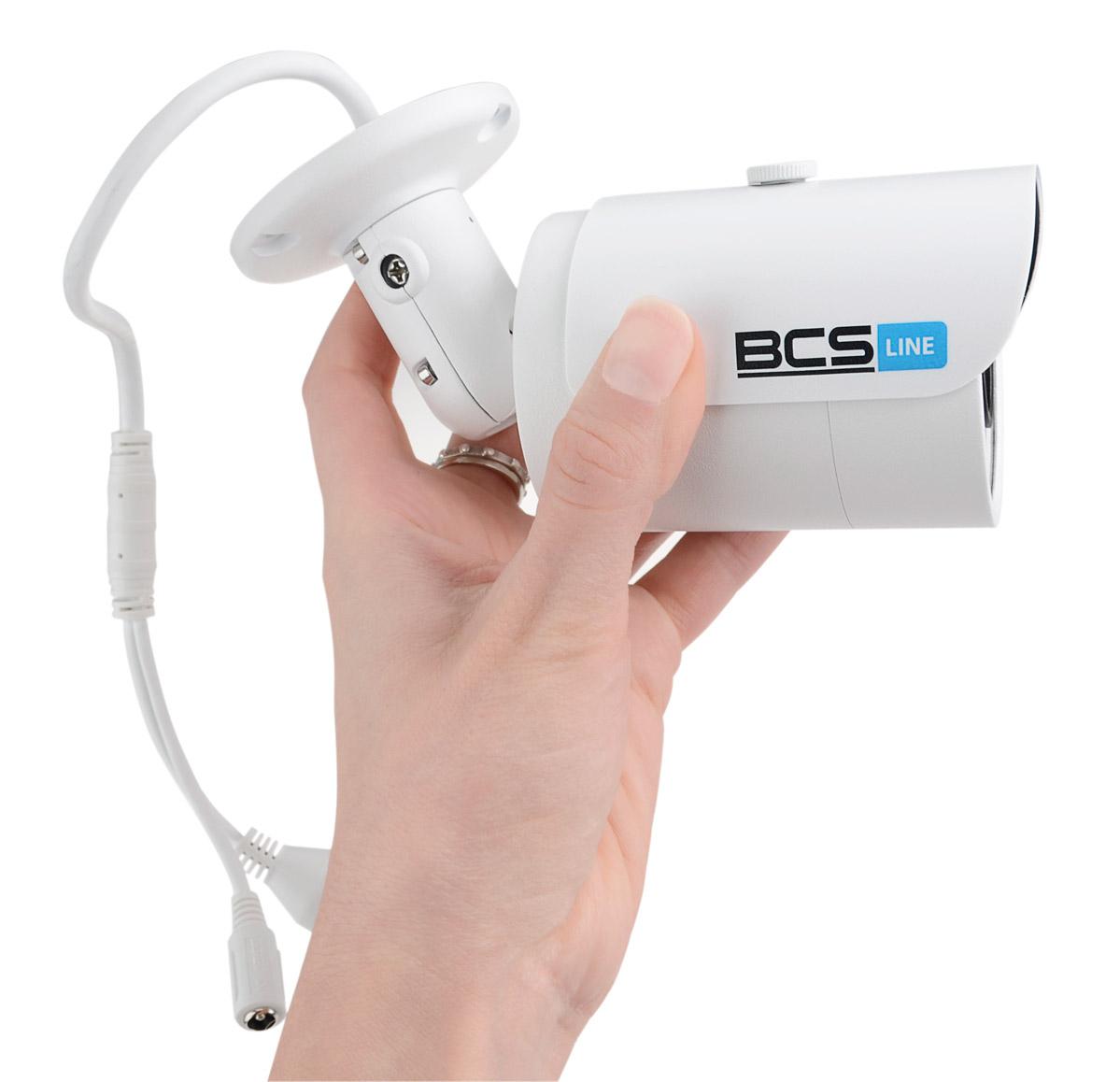 Niewielkie wymiary kamery BCS-TIP3200IR-E-II