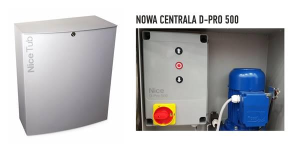 Nowa centrala D-PRO 500