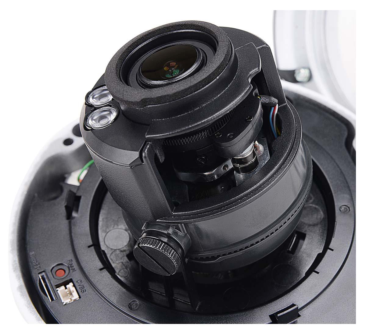 Obiektyw typu MOTOZOOM w kamerze BCS-P-262R3WSA